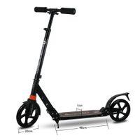 7b087f3fd -Profissional Adulto Dobrável Scooter 2 Rodas de Absorção Não-Elétrica 100  KG Rolamento Liga de Alumínio Hoverboard HOT Venda