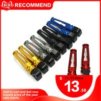 Wholesale footrest for motorcycle resale online - For GSR GSX S GSX S750 Footrest GSR GSXS1000 GSXS750 Universal Rear Pedal Footrests Foot Pegs Motorcycle