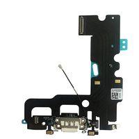 micrófonos de puerto usb al por mayor-Puerto de carga USB Conector del muelle Cable flexible + Micrófono + Auricular Conector de audio Pieza de repuesto para iphone 7 7 Plus carga flexible