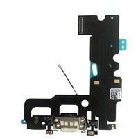 mikrofon-dock großhandel-USB-Ladeanschluss Dock Connector Flex-Kabel + Mikrofon + Kopfhörer-Audiobuchse Ersatzteil für iPhone 7 7 Plus Ladeflex