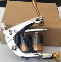 neue spulenmaschine großhandel-M029 New Tattoo Gun für Tattoo Power Supply Kits Werkzeug Handmade Wrap Coil Eisen Tattoo Maschinengewehr