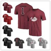 254143b26 2019 Fathers Day Arizona Pro Line Cardinals Greatest Atlanta Number 1 DAD  Falcons T-Shirt Baltimore Retro Gray Ravens Buffalo Free Shipping