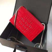 hakiki deri cowhide timsah çantası toptan satış-Aziz Timsah desen dana Tasarımcı Çanta yüksek kaliteli Lüks Çanta Ünlü Markalar kadınlar Orijinal Hakiki Deri Omuz Çantaları