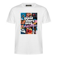 Wholesale grand theft auto for sale - Group buy Fashion new Grand Theft Auto T shirt men s street long T shirt men s T shirt suitable for lovers MC38