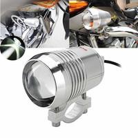 ingrosso casa luminosa-Faretto a LED per moto 30W Faretto a luce spot U2 per Chrome 6000K- 7000K Super Bright Motor Running Light Driving Lamp (1-Pa