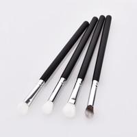 Wholesale makeup brush sets for sale resale online - Hot Sale black good quality set set wooden handle Makeup Brushes Set for eye Multifunction Brushes