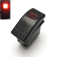 ingrosso luce di commutazione del rocker-All'ingrosso- Red 12V Light Rocker Switch per Polaris RZR XP900 800 Maverick Commander 14 15