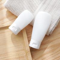 ingrosso vuote bottiglie di spremitura-squeeze bottiglia lozione facciale detergente shampoo doccia gel vibrazione vuoto bottiglia cosmetici sub-bottle30ml 60ml 100ml