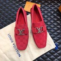 koreanische markenschuhe großhandel-Marke Top Soft Men wasserdichte Luxus Wohnungen Schuhe Koreanische Version Tägliche Atmungsaktive Füße Faule Lässige Echtes Leder Größe 38-44