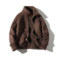 ingrosso cappotto di trincea uomo di collana mandarino-Giacche uomini di alta qualità ispessiscono il cappotto da uomo cappotto di nuovo stile inverno Trench Mans modo casuale classico Cappotti