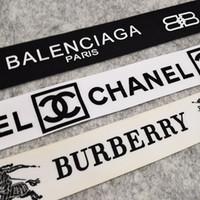 bricolaje textil al por mayor-Tornillo de rosca Cinta clásica impresa letra de la cinta de textiles para el hogar regalos vestido con estatinas cinta de tela y la costura Textiles bricolaje Materl embalaje