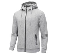 casacos asiáticos para homens venda por atacado-Casacos de grife para homens Moda Esporte Outono Inverno com capuz Sports Hoodies Marca Mens Casual Ativo Jacket Vestuário Tamanho Asiático Tamanho L-5XL