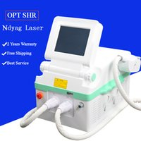 Wholesale tattoo removal rf for sale - Group buy ipl laser hair removal elight ipl rf shr laser face acne treatment ndyag laser tattoo removal machine