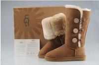 Wholesale womens fashion warm winter boots for sale - Group buy Stock high quality Xmas gift Half Boots color Winter Snow Boots sexy womens snow boots Winter warm Boot cotton padded shoes UGG
