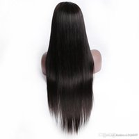 Wholesale loose wave synthetic braiding hair resale online - Sexy Natural Black Braided Wigs with Baby Hair Long Braids Full Wigs Glueless Synthetic Lace Front Wigs for Black Women He