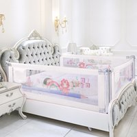 Wholesale children gates resale online - Baby Bed Fence in inc Home Kids playpen Safety Gate Products child Care Barrier for beds