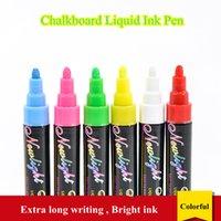marqueurs d'esquisse achat en gros de-Réinscriptible POP liquide stylo à encre pour verre de Windows Tableau noir Tableau blanc Tableau noir Marqueur fluorescent Conseil Pen