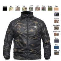 taktische camo uniformen großhandel-Outdoor Jagd Schießen Hemd Schlacht Kleid Uniform Tactical Camo BDU Armee Kampf Kleidung Quick Dry Camouflage Shirt SO05-110