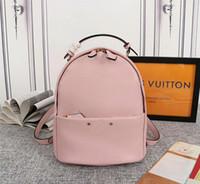 modern vintage çanta toptan satış-Tasarımcı sırt çantaları Luis çiçek tasarımcı çanta hakiki deri mini boyutu bayanlar moda modern tasarımcı çanta çanta