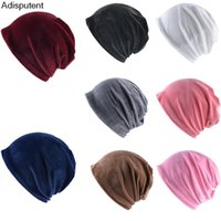 Wholesale earmuffs for men resale online - Women s Hat Plush Knitted Earmuffs Cap Hats Winter Hat for Women Warm Knitted Hats Brand New Thick Womens Caps