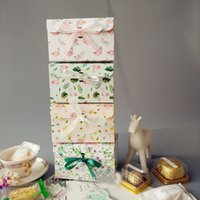 Wholesale christmas cake package resale online - Party Present Wedding Favor Box Candy Cake Chocolate Packaging Boxes Christmas Gift Boxes