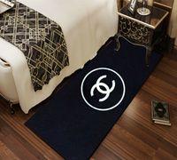 tapete para viver venda por atacado-Sala de estar Tapetes de Área Tapetes Impresso Cobertor De Cabeceira Tapete E Tapete Da Janela De Baía Tapetes Confortáveis Para Casa Decorações