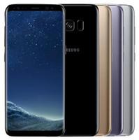 Wholesale gold cameras for sale - Refurbished Original Samsung Galaxy S8 Plus S8 G955U G950U Unlocked Cell Phone Octa Core GB quot quot MP Single Sim