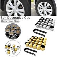Wholesale lug caps for sale - Group buy 17mm mm mm Universal Auto Car Tire Screw Cap Wheel Lug Nut Screw Bolt Cover Tyre Dust Cap Protective Car Accessory
