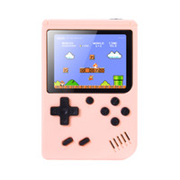 Discount best handheld games console Mini Games Console Handheld Game box Portable Classic Video Game Player 3.0 Inch Color LCD 500 Games for Kids Best Gift