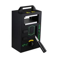 Authentic KP-1 Rosin DAB Press Machine from LTQ Vapor 4 ton KP1 Dual Heating Aluminum Plates Electric Hash Heat pressure KP 1 Tool