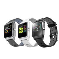 relógio gps de qualidade venda por atacado-Alta qualidade P1C GPS Multisport Banda Inteligente de Freqüência Cardíaca de Fitness Pulseira IP68 À Prova D 'Água de Exibição de Cor Bluetooth TPU Sports Watch