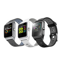Wholesale bluetooth wristband display online – High quality P1C GPS Multisport Smart Band Heart Rate Fitness Wristband IP68 Water Resistant Color Display Bluetooth TPU Sports Watch
