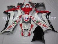 kawasaki ninja zx 14 großhandel-OEM-Qualität Neue ABS-Spritzguss Fairings Kits 100% fit für Kawasaki Ninja ZX-10R 11 12 13 14 15ZX10R Karosserie glänzend Rot Weiß Schwarz gesetzt