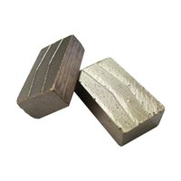 Wholesale one chip resale online - DS02 Smooth Cutting Segments with no Chipping D1200mm Diamond Segments for Granite Block mm One Set