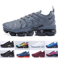 Wholesale cutting string resale online - TN Plus Running Shoes For Men Women Royal Smokey Mauve String Colorways Olive In Metallic Triple White Black Trainer Sport Sneakers QW98