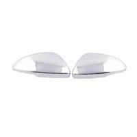боковые зеркала оптовых-Exterior Accessories Rear View Side Door Mirror Cover Cap Decor Trim ABS For Chevy Chevrolet Cruze 2017 2018