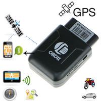 ublox gps toptan satış-Mini GPS Izci Araba GPS Bulucu Izci OBD2 UBlox Çip ile GSM GPRS Takip Cihazı ve Gerçek IMEI Numarası Araba aksesuarları