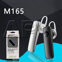 handfree telefone großhandel-NEUE M165 Ultraleicht Wireless Stereo Bluetooth Headset Kopfhörer Mini 4.5 Stereo Kopfhörer Ohrhörer Handfree für iPhone Samsung Smartphones