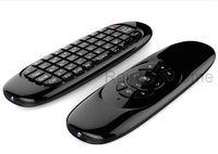 ingrosso tastiera qwerty dual-Fly Air Mouse Mini Wireless QWERTY Tastiera Telecomando Gioco Controller per Android TV Set Top Box Mini PC 6 Giroscopio Q3 all'ingrosso