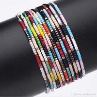 europa-perlen-art und weisearmband großhandel-Großhandel Neue Europa und Amerika Mode Design Freundschaftsarmband Import MIYUKI Reis Perle Armband Handgewebte Armband