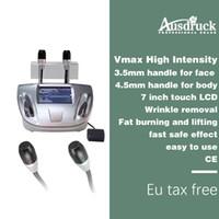máquina de elevación del cuerpo de la cara al por mayor-La máquina de conformación de cuerpo de estiramiento facial Hifu de ultrasonido focalizado de alta intensidad vmax