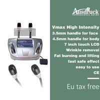 máquina de elevação do corpo do rosto venda por atacado-O corpo o mais novo focalizado elevação da face lift do ultra-som HIFU do vmax que dá forma à máquina
