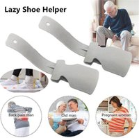 NEW Lazy Shoe Helper Unisex Handled Shoes Horn Easy on & Off Shoe Lifting Wear Shoe Helper Lifters
