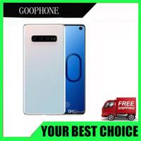 """vídeo quente mms venda por atacado-Goophone S10 Plus 4G LTE Face ID Impressão Digital 6.4 """"Octa Core 16MP Câmera Dual Nano Sim Card Telefones Desbloqueados"""