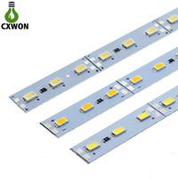 ingrosso armadi da cucina rotondi-LED Light Bar DC12V 5630 striscia led 36LEDs 50cm rigida rigida LED Strip per cucina sotto Cabinet Showcase