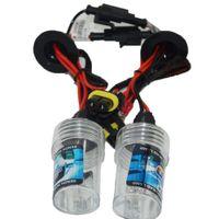 xenon ac h11 venda por atacado-2x AC 12 V 55 w Xenon HID Lâmpadas de luz de Substituição do farol H1 H3 H4 H7 H11 9005 9006 6000 K Branco kit de conversão HID