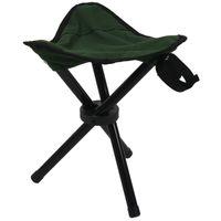 ingrosso sgabello pieghevole a treppiedi-Folding Tripod Stool esterna per campeggio sedile leggero Pesca sedia NUOVO
