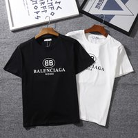 ingrosso stile t-shirt di kanye west t shirt-T-Shirt Fashion-Classic T-Shirt manica corta O-collo BB MODE T-Shirt sportiva Kanye West Letters Camicia sportiva Tees stile street hip-hop stampato Sportwear.