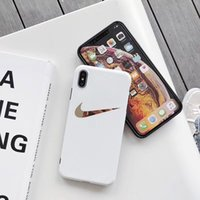 Wholesale silicone cases for cell phones for sale – best For iphone xs max luxury designer phone case soft touch silicone phone case iphone plus plating gold design Cell phone cover