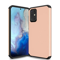 Wholesale slim armor shockproof case for sale – best 2 in Dual Layer Slim Armor Hybrid Case for Samsung Galaxy S20 Ultra S10 Plus S10e Shockproof Cover